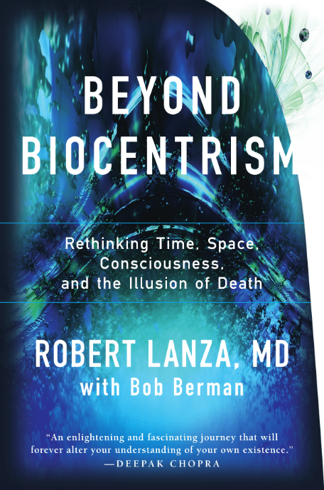 Beyond Biocentrism Book Cover Graphic