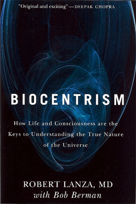 Biocentrism Book Cover Graphic
