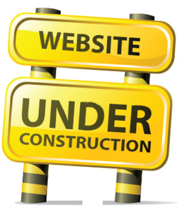Website Under Construction Graphic