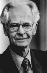 Photo of Professor B.F. Skinner