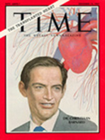 Time Magazine cover image of Professor Christiaan Barnard