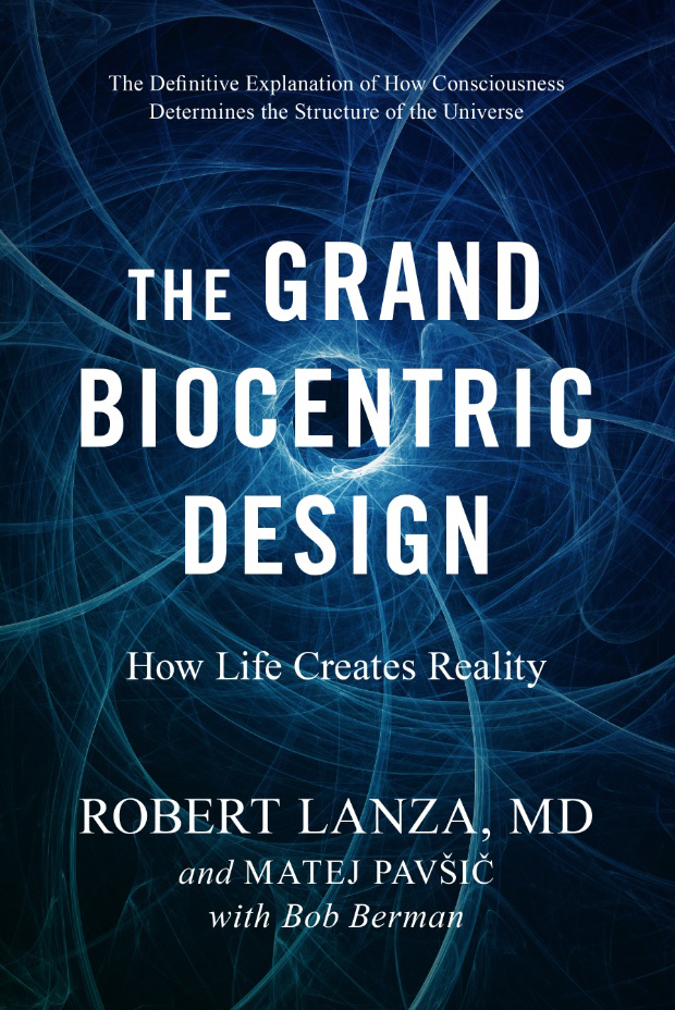 The Grand Biocentrism Design Book Cover Image